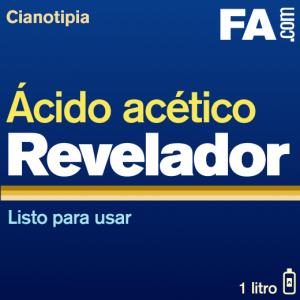 Revelador de ácido acético